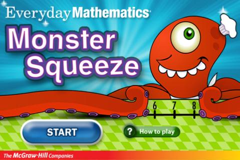 Everyday Math Monster Squeeze