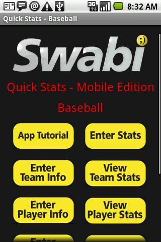 Quick Stats for Baseball