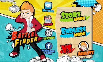 Screenshot of Battle Finder
