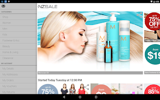 Screenshot of Nzsale