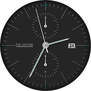 Zen Chronoscope-B Watch Face APK