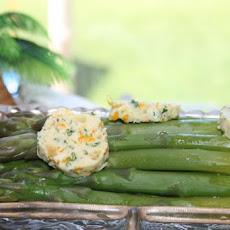 Asparagus With Ginger-Orange Butter