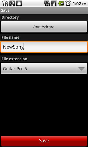 Guitar Partner - screenshot