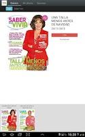 Screenshot of Saber Vivir Revista