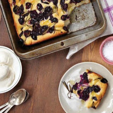 Concord Grape and Rosemary Focaccia