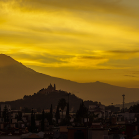 sunshine by Cristobal Garciaferro Rubio - Landscapes Mountains & Hills ( popo, popocatepetl, sunshi and volcano )