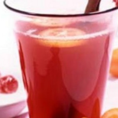 Mulled Cranberry Citrus Sipper