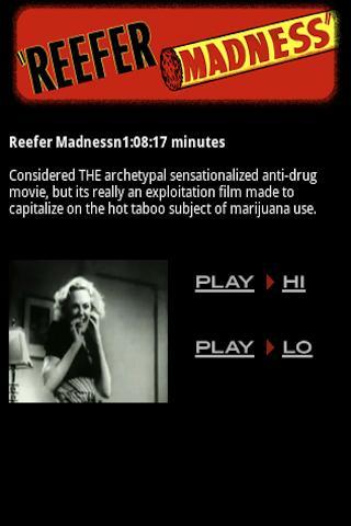 Reefer Madness Film
