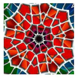 Flower by Joanne West - Abstract Patterns