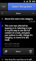 Screenshot of ListNote Pro Notepad