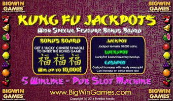 Screenshot of Kung Fu Jackpots Free Slots HD