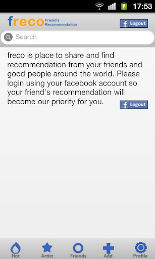Freco :friend's recommendation