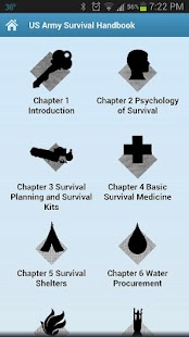 Army Survival Handbook Paid - screenshot