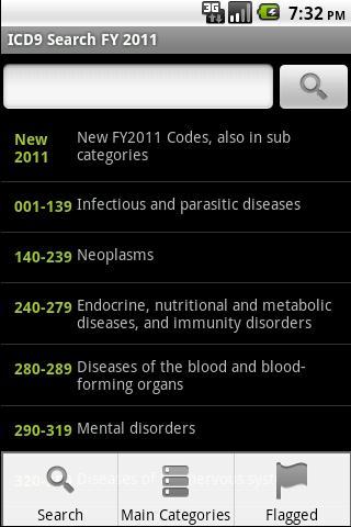 【免費醫療App】ICD-9 Medical Code Search FY11-APP點子
