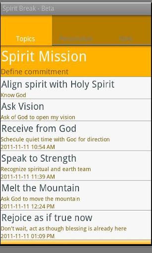 Spirit Break - Beta