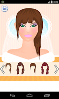 Screenshot of bride makeup games