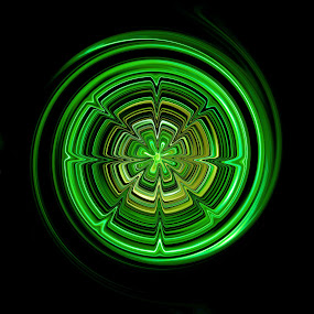 so green by Lina Marano - Illustration Abstract & Patterns (  )