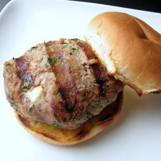 Turkey Burgers with Feta Cheese
