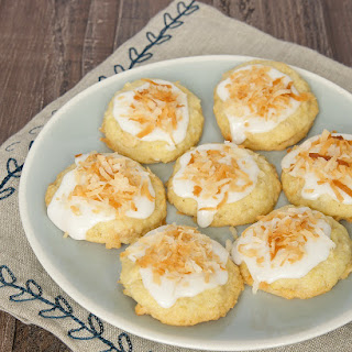 Toasted Coconut-White Chocolate Cookies