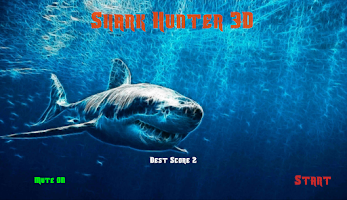 Screenshot of Shark Hunter 3D