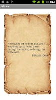 Screenshot of Psalms Of Day