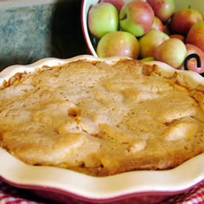 Easy Swedish Apple Pie