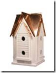 reclaimed wood birdhouses