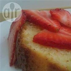 Soured Cream Lemon Sponge Cake