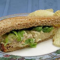 Twisted Tuna Fish Sandwich