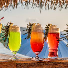 coctails by Vibeke Friis - Food & Drink Alcohol & Drinks ( five on line, beach, cocktails )