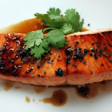 Honey-Ginger Baked Salmon With Jasmine Rice