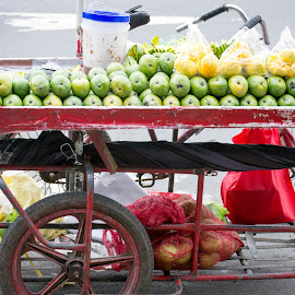 Mango by Anthony Clark - Food & Drink Fruits & Vegetables ( food, street, outdoors, philippines )