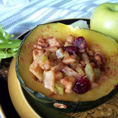 Apple Stuffed Acorn Squash. . . Microwave-Style!