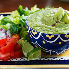 "Bryanna's Low-Fat Veggie ""Guacamole"""