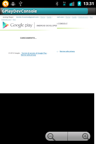 Gplay Dev Console Launcher