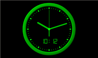 Screenshot of Analog Clock-7 Mobile