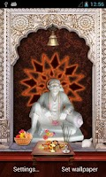 Screenshot of Shirdi Sai Baba 3D Temple LWP