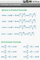 Screenshot of Math Formulae Pro