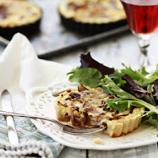 Caramelized Onion Quiche with Dubliner