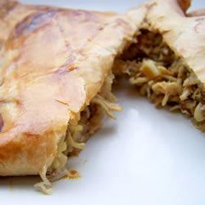 Chicken Curry Puff Pastry Parcels