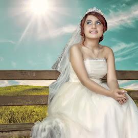 Smile for You by Raffsanjani Ayub - Wedding Bride