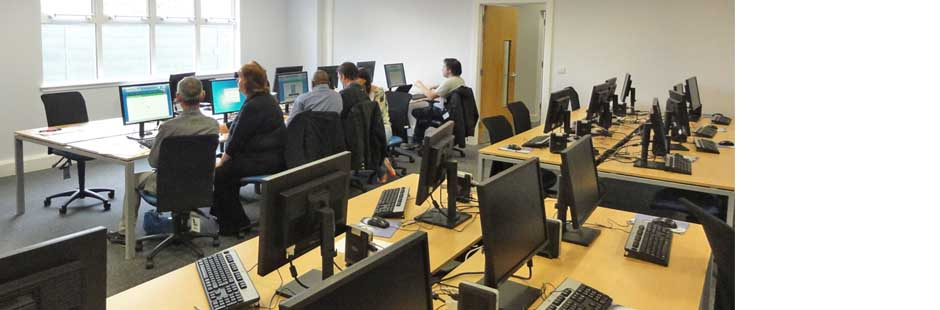 The IT suite at Duddingston Yards