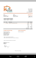 Screenshot of MobileBiz Co – Invoice