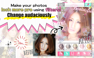 Screenshot of DECOPIC,Kawaii PhotoEditingApp