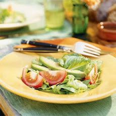 Avocado, Tomato, and Romaine Salad