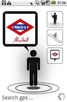 Screenshot of Madrid Metro AR