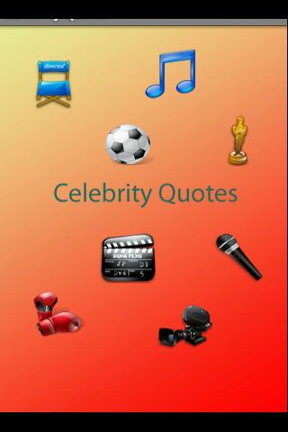 Celebrity phrases quotes
