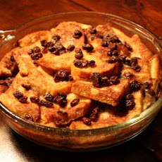 Irish Bread and Butter Pudding