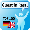 100 Guests Phrases Restaurant icon