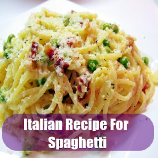 Authentic Italian Recipe For Spaghetti